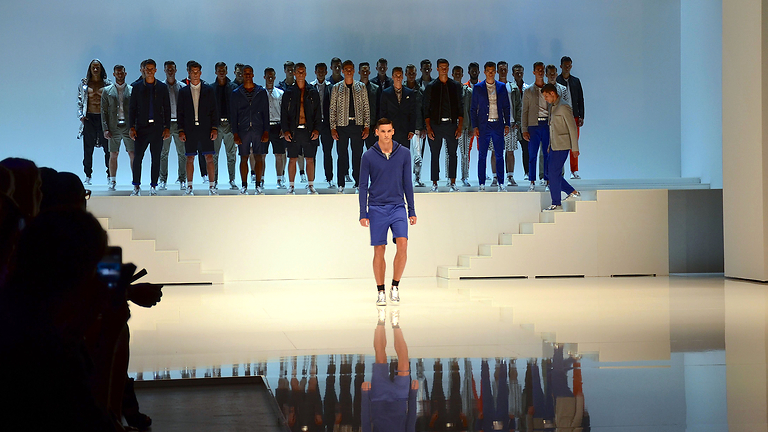 Men's fashion show